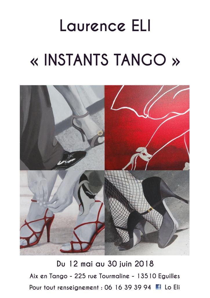 Exposition de peintures acryliques à Aix en Tango